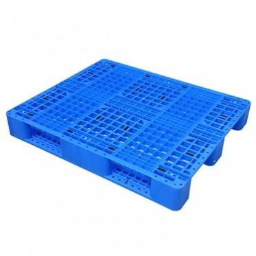 虹森  双面网格塑料托盘叉车底托板加厚栈板两面卡板重型仓储货架