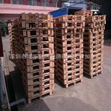 大量供应木托盘木栈板优质熏蒸木卡板 免熏蒸卡板供货深圳东莞