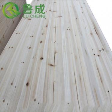 厂家直销12mm优质香杉木实木板 橱柜书柜直拼家具板材