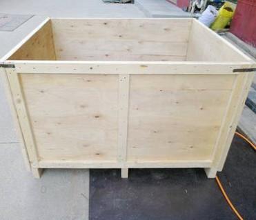 厂家提供 包边木箱 钢带包边木箱 钢边木箱 价格实惠