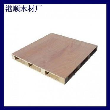 东莞四面进叉实木桉树托盘 仓库周转卡板木栈板 木栈板木托盘