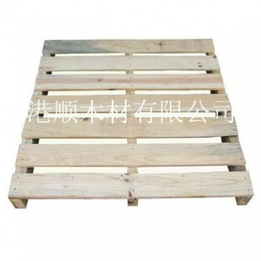 木托盘木栈板实木卡板烟熏木托盘熏蒸木卡板 两面进叉木卡板