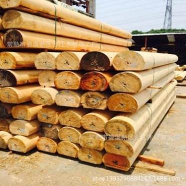 加工厂家 圆柱 防腐木圆柱 古建筑圆柱车圆 木材加工厂价格优惠