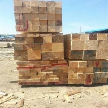 厂家定制东北红松原木加工优惠板材Red pine,红松圆柱红松木方