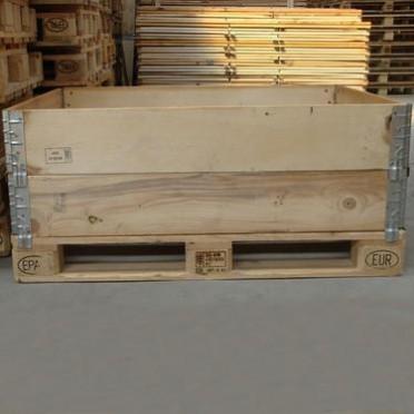虹森 胶合板免熏蒸出口木箱定制 木质包装箱