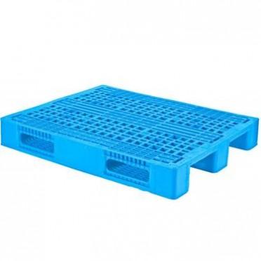 虹森 冷链物流塑料托盘网格塑胶PP料垫板仓库储运卡板耐寒冷库叉车叉板